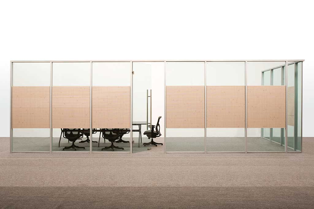 Office Partitions Single Glass Type A