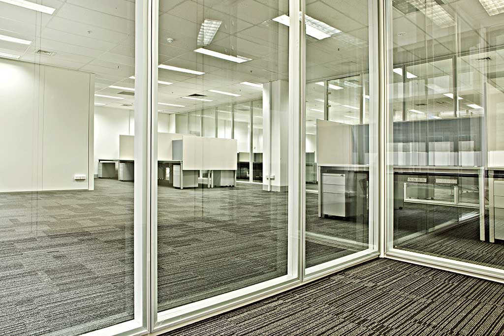 Office Partitions Steel Glass